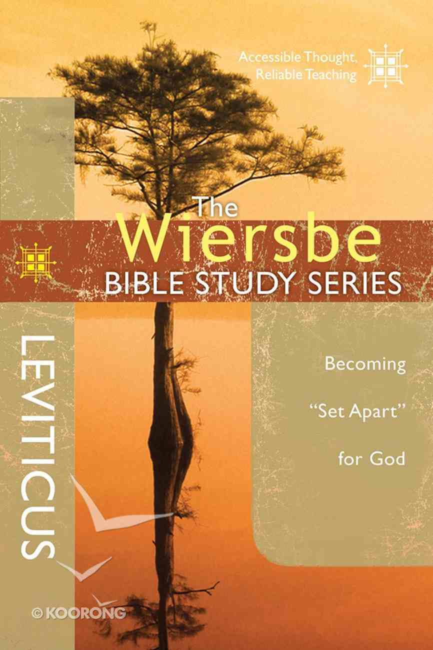 Leviticus (Wiersbe Bible Study Series) Paperback