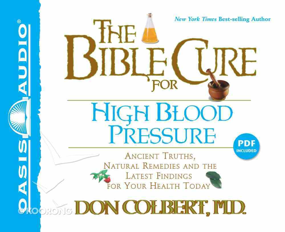 The Bible Cure For High Blood Pressure (Bible Cure Series) CD