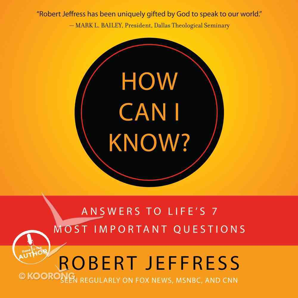 How Can I Know? eAudio Book