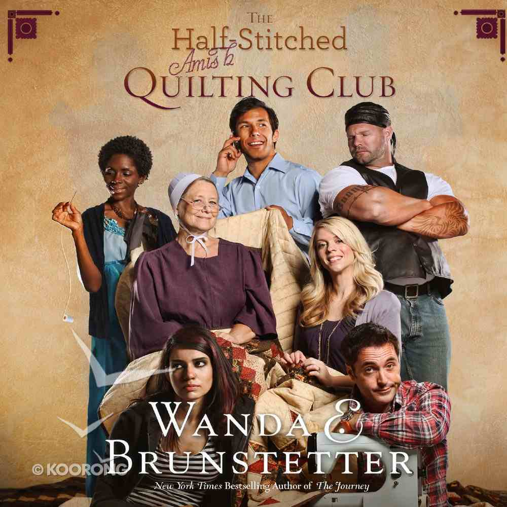 The Half-Stitched Amish Quilting Club eAudio Book