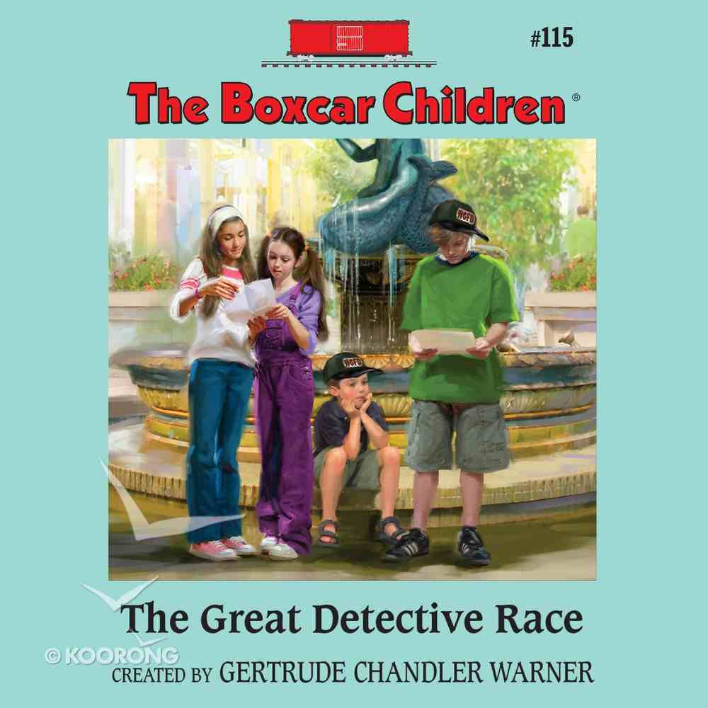 The Great Detective Race eAudio Book