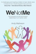 We Not Me (Ebook) image