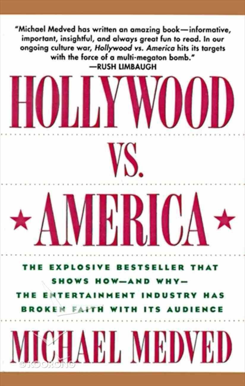 Hollywood Versus America Paperback