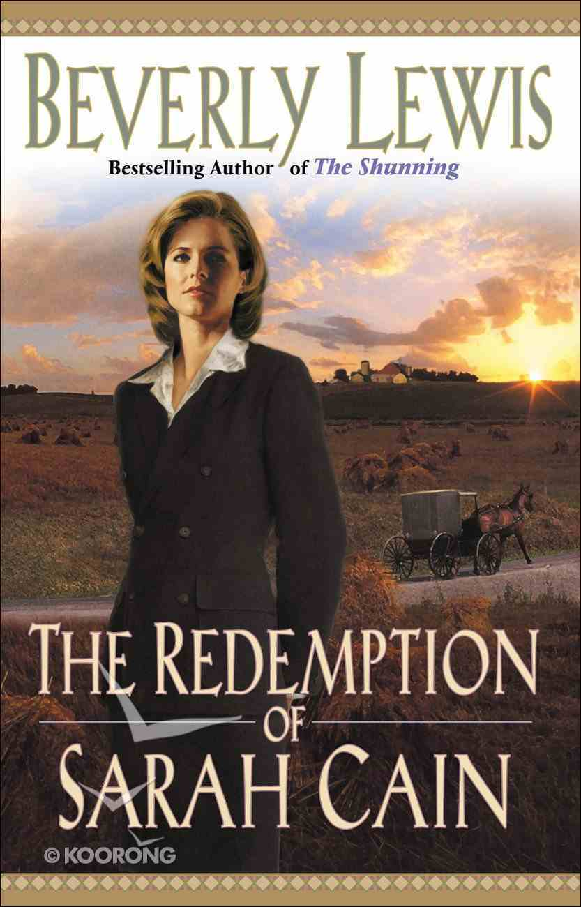 The Redemption of Sarah Cain (Large Print) Paperback