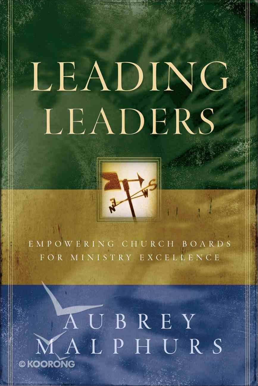 Leading Leaders Paperback