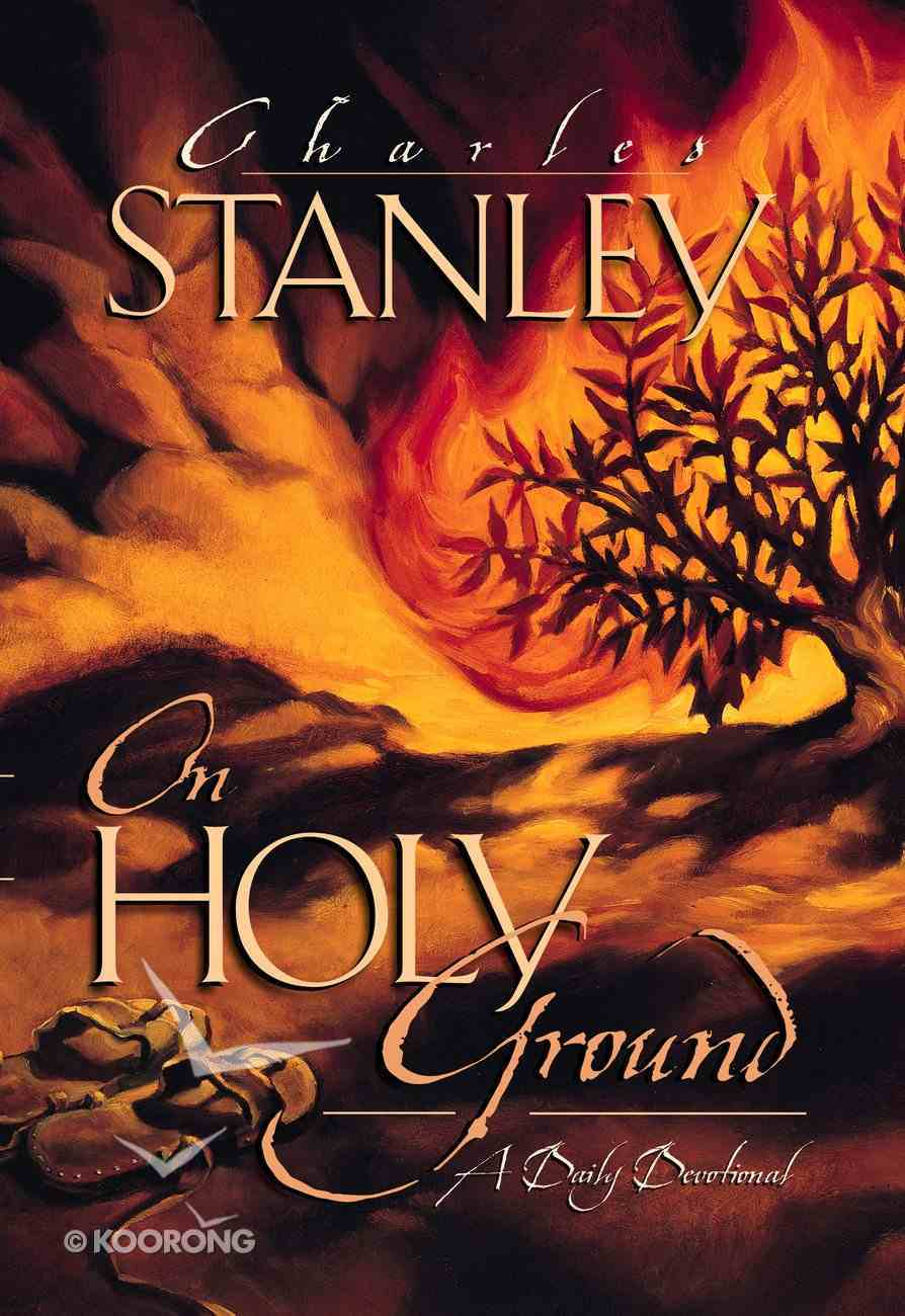On Holy Ground (Large Print) Paperback