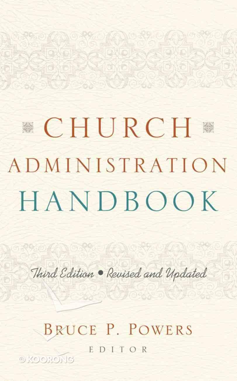 Church Administration Handbook Paperback