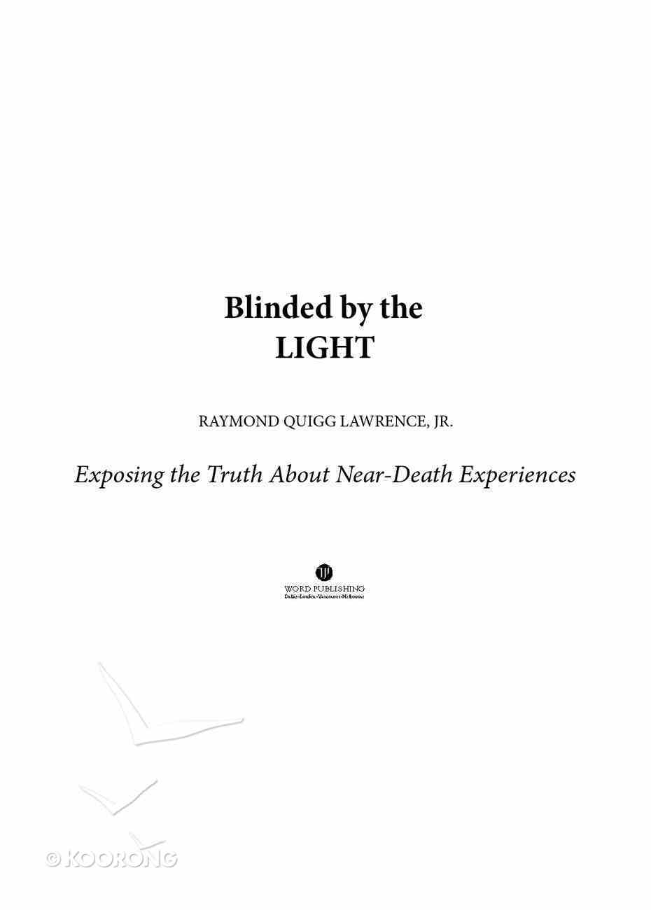 Blinded By the Light Paperback