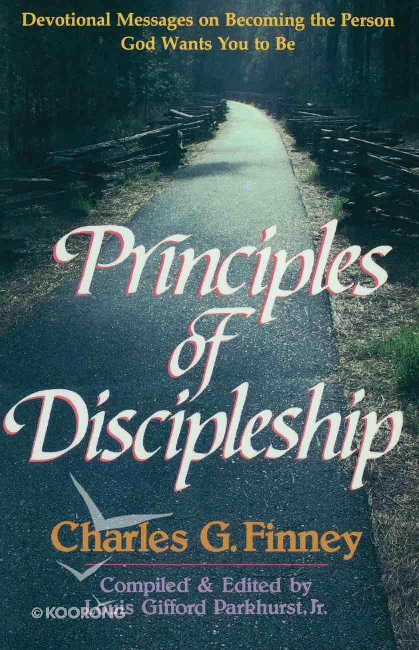 Principles of Discipleship Paperback