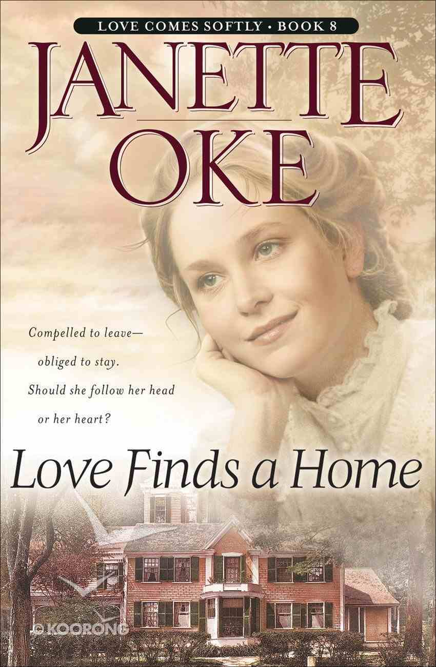 Love Finds a Home (Large Print) (#08 in Love Comes Softly Series) Paperback