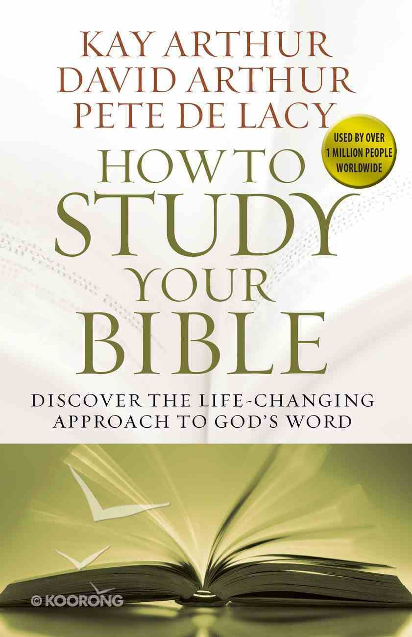 How to Study Your Bible Paperback