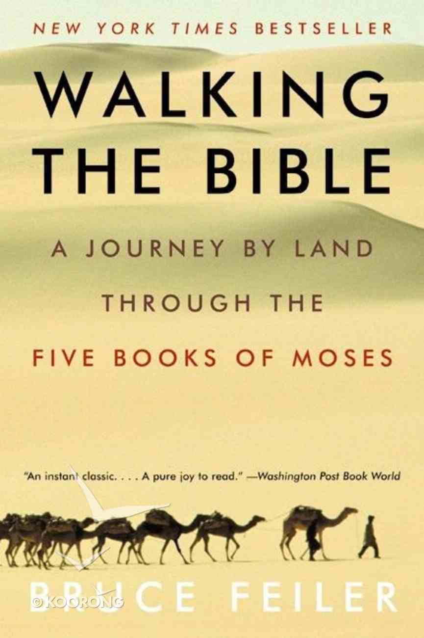 Walking the Bible Paperback
