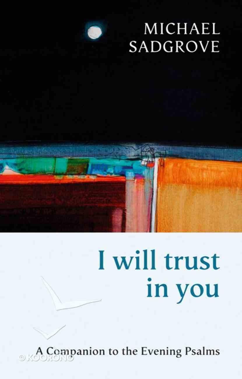 I Will Trust in You eBook