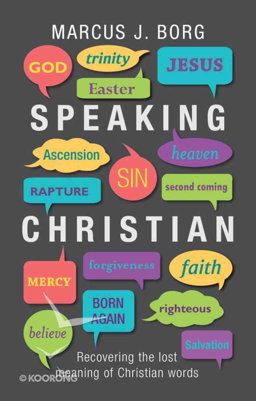 Speaking Christian eBook