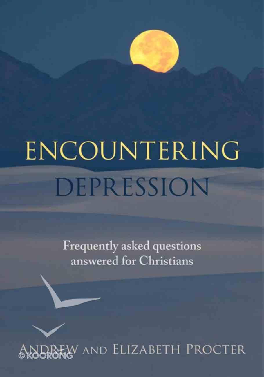 Encountering Depression eBook