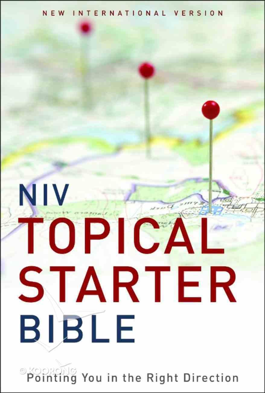 NIV Topical Starter Bible eBook