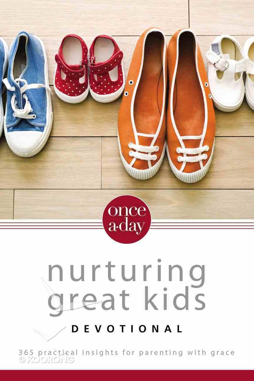 Once-A-Day Nurturing Great Kids Devotional eBook