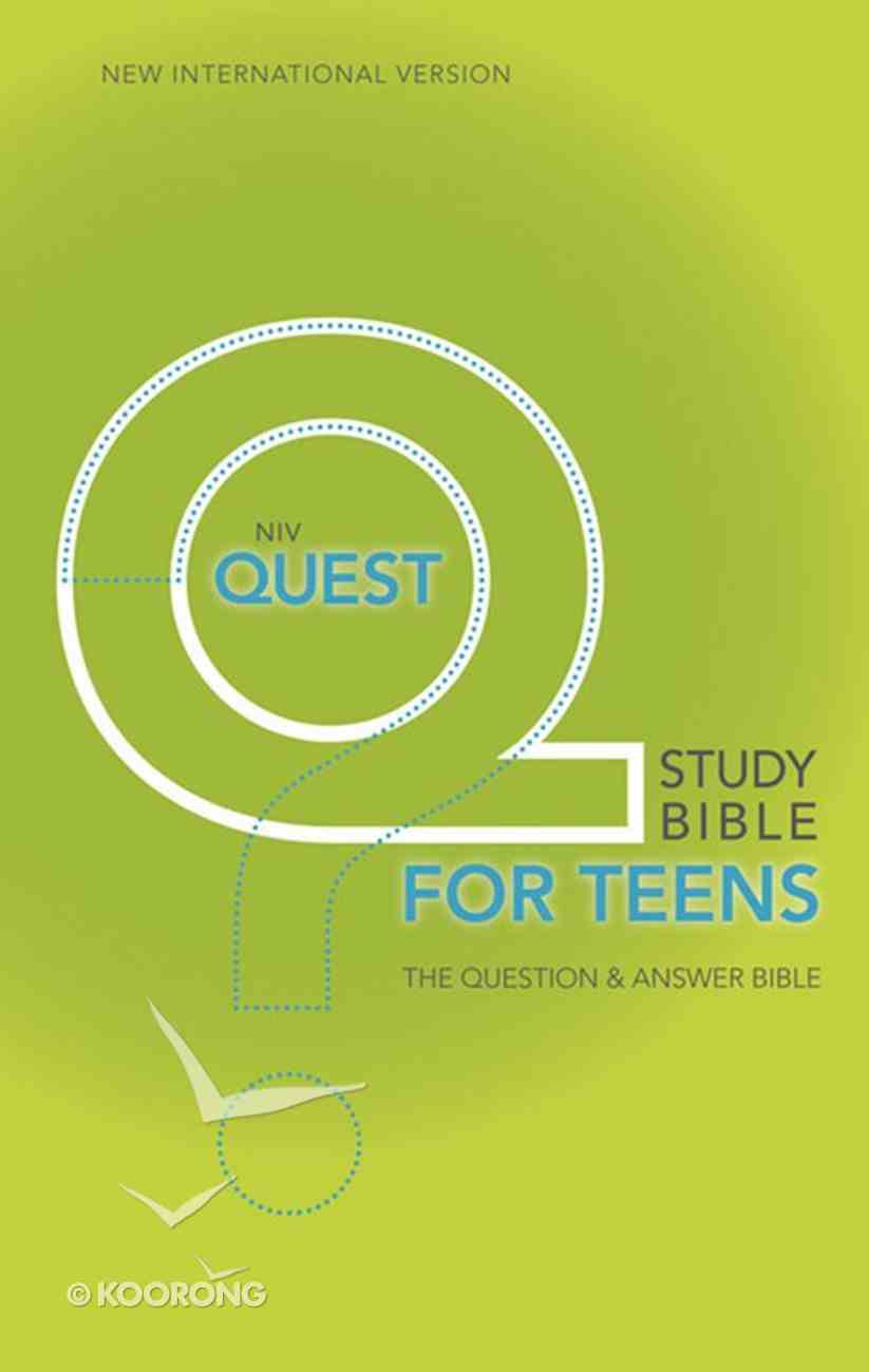 NIV Quest Study Teen Bible eBook