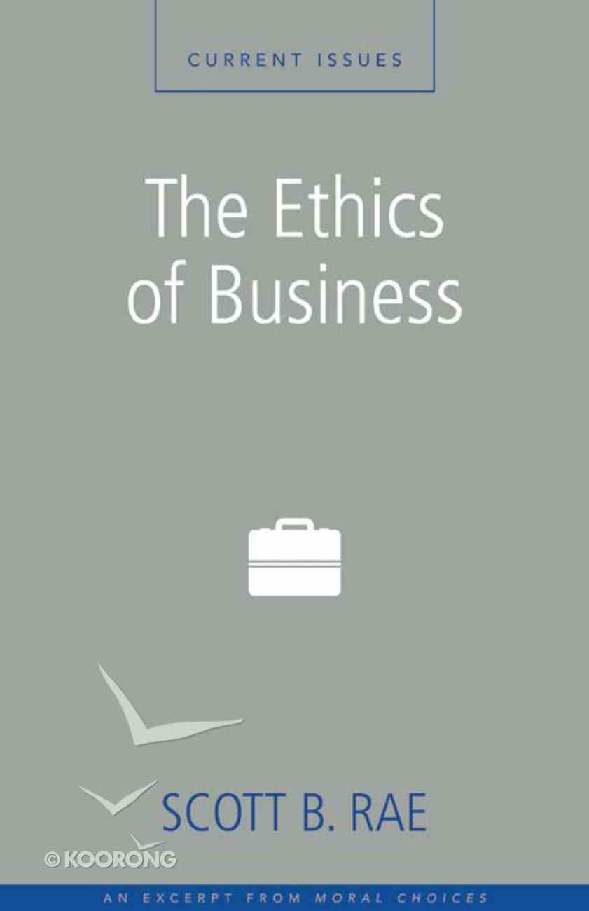 The Ethics of Business eBook