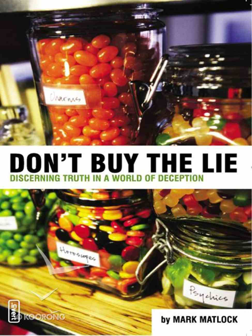 Don't Buy the Lie eBook
