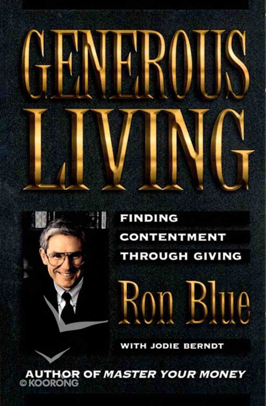 Generous Living eBook