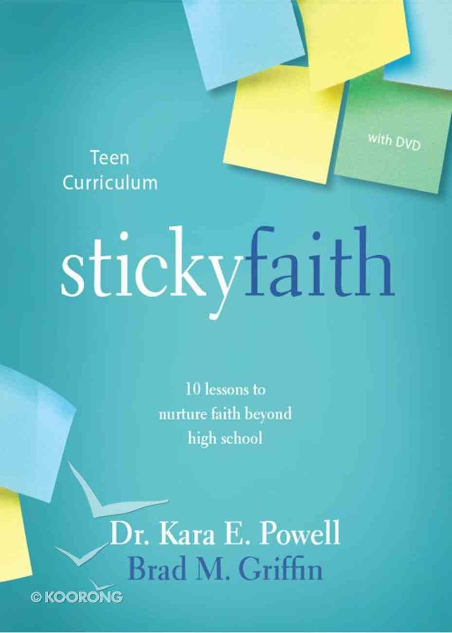 Sticky Faith Teen Curriculum With DVD eBook