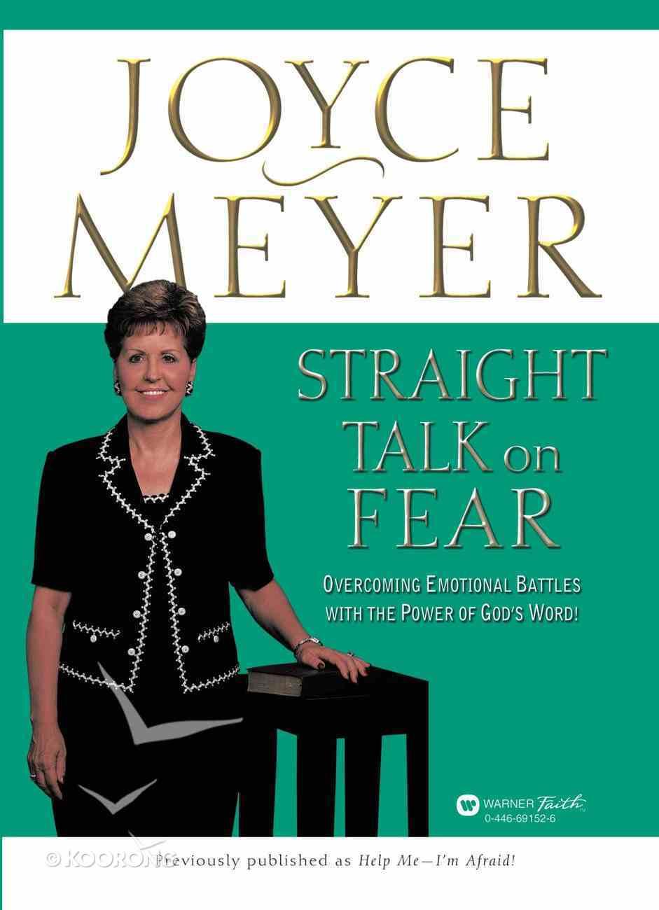 Straight Talk on Fear Paperback