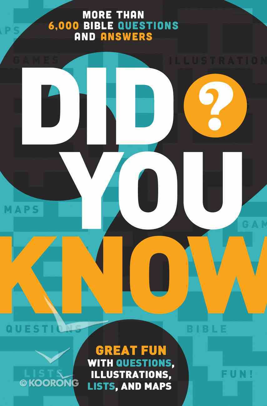 Did You Know? eBook