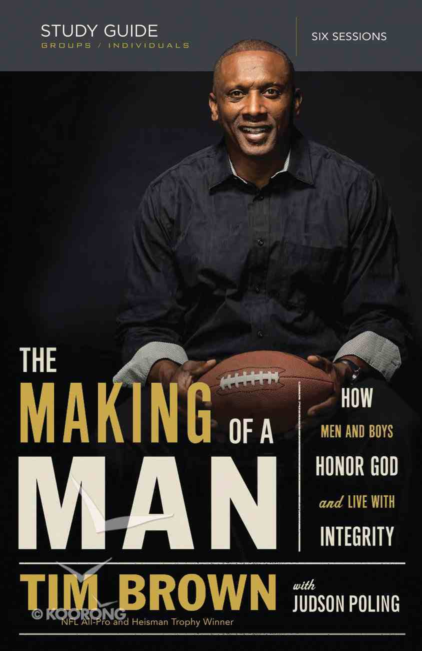 The Making of a Man Study Guide eBook