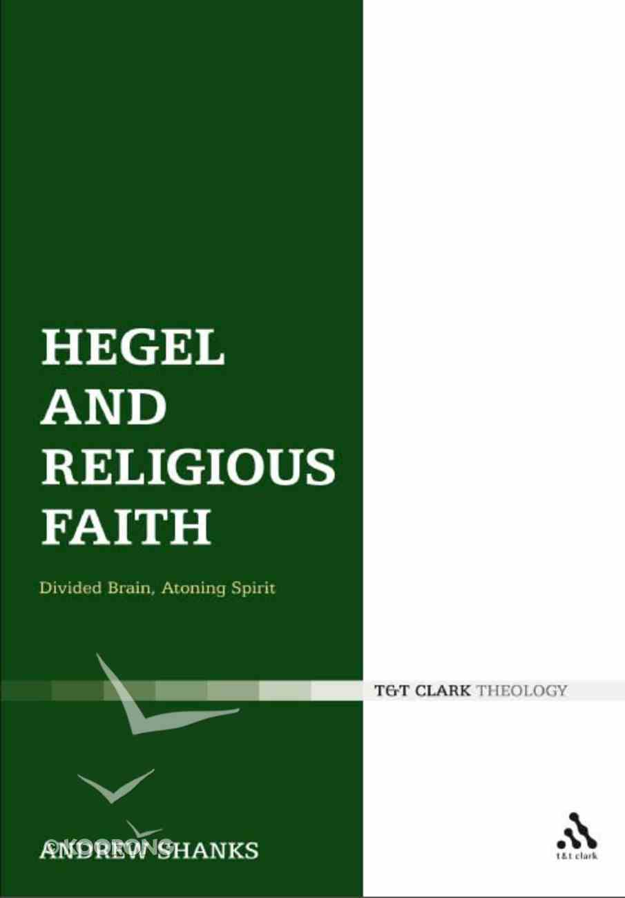Hegel and Religious Faith Paperback