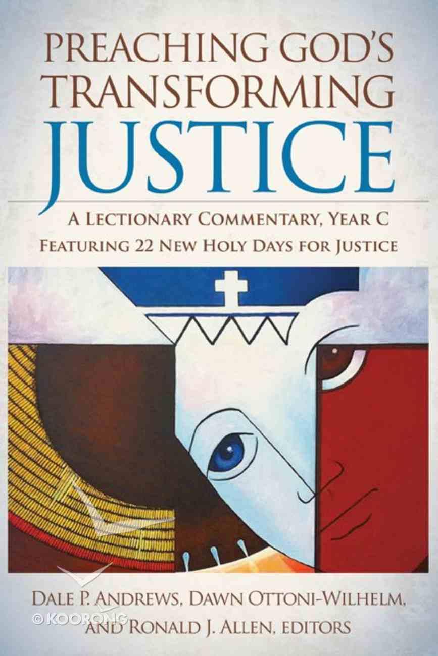 Preaching God's Transforming Justice Hardback