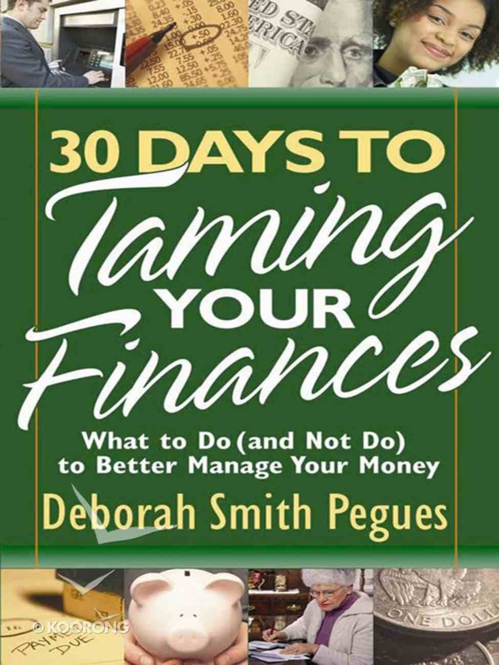 30 Days to Taming Your Finances eBook