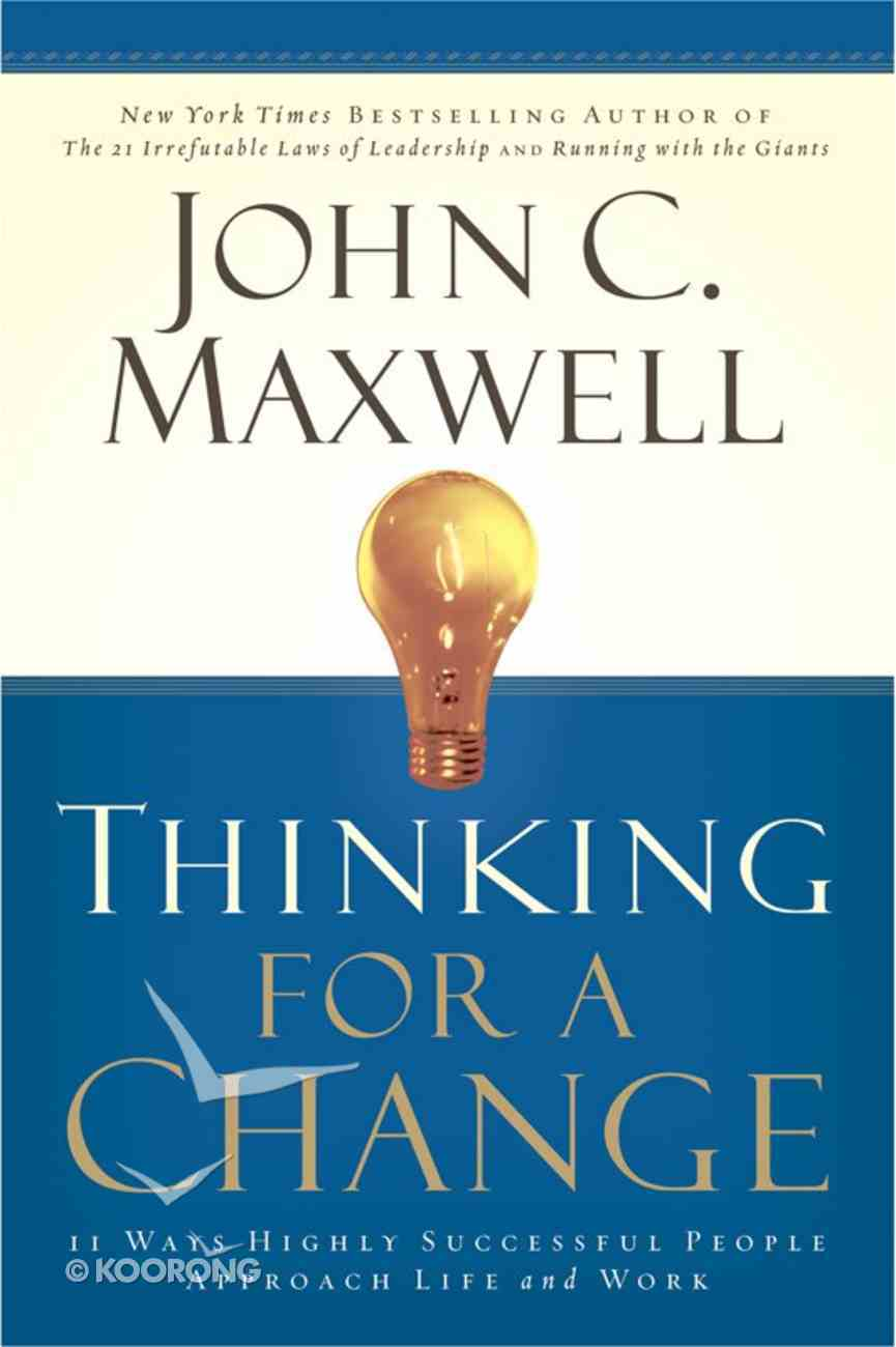 Thinking For a Change eBook