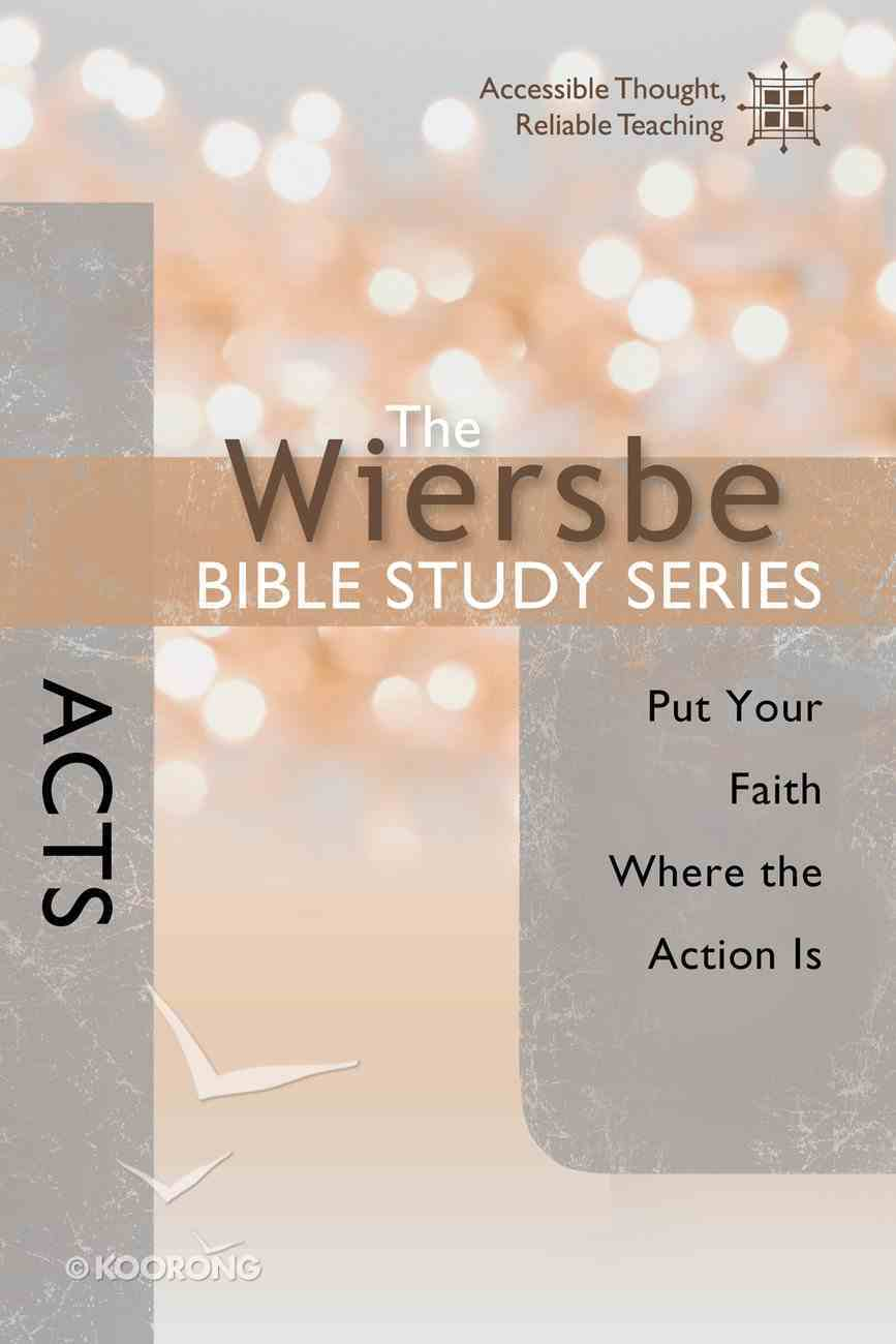 Acts (Wiersbe Bible Study Series) eBook