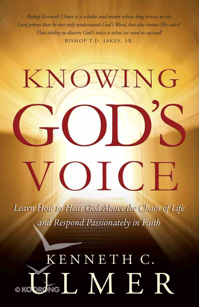 Knowing God's Voice Paperback