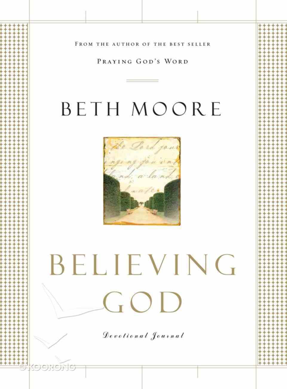 Believing God (Devotional Journal) eBook