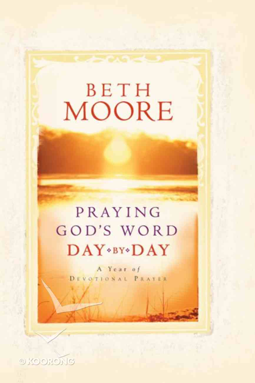 Praying God's Word Day By Day eBook