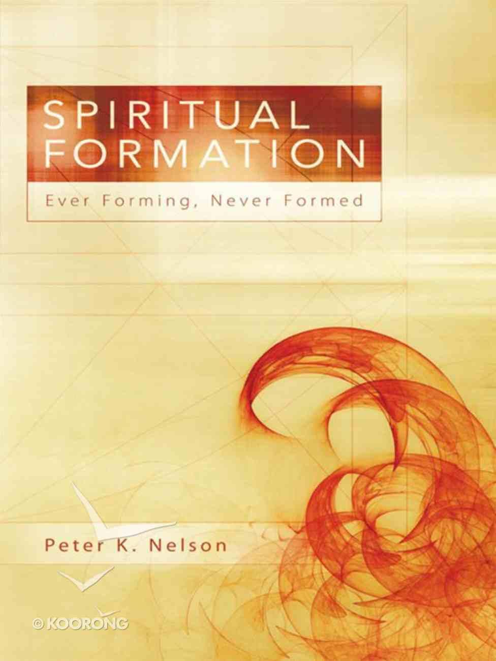 Spiritual Formation eBook