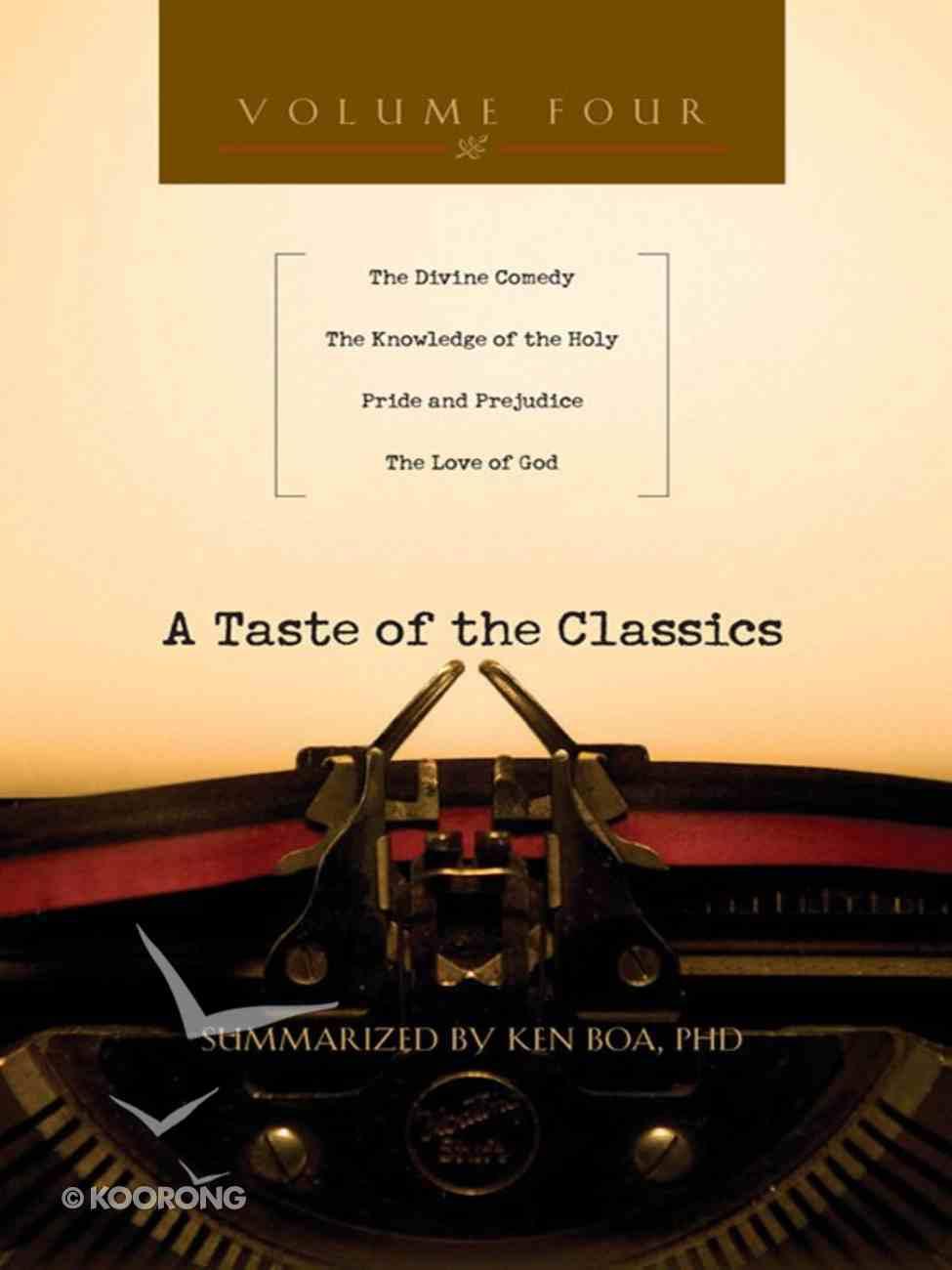 A Taste of the Classics (Volume 4) (#04 in Taste Of The Classics Series) eBook