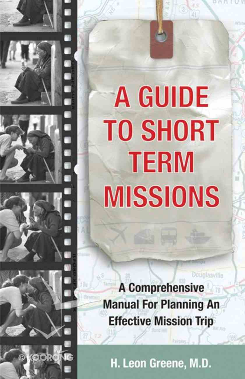 A Guide to Short-Term Missions eBook