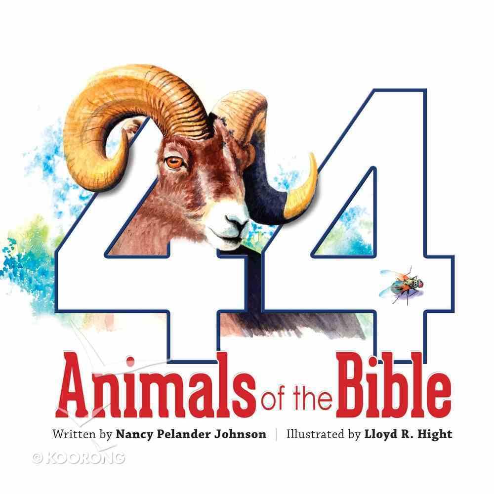 44 Animals of the Bible Hardback