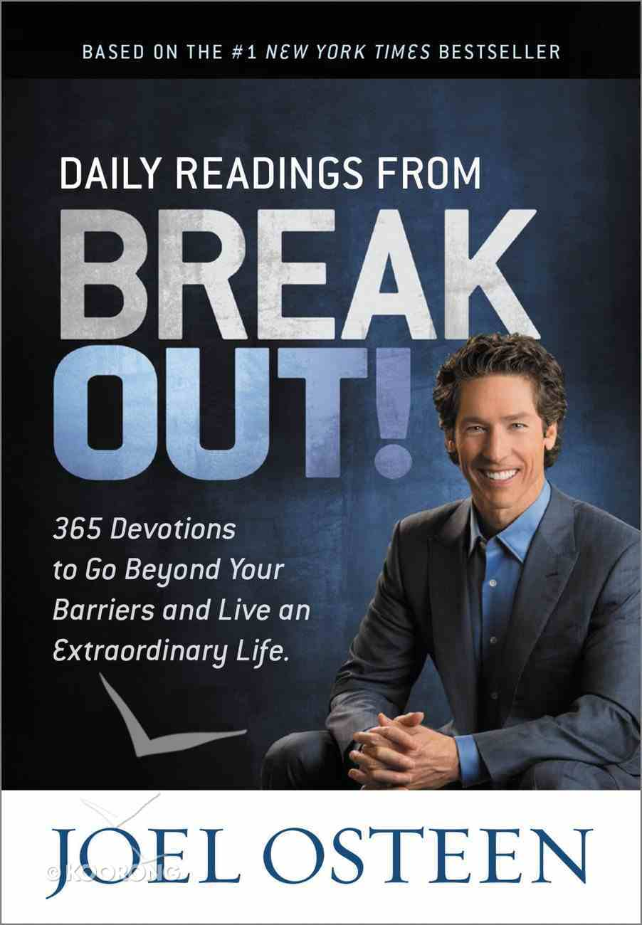 Daily Readings From Break Out! Hardback