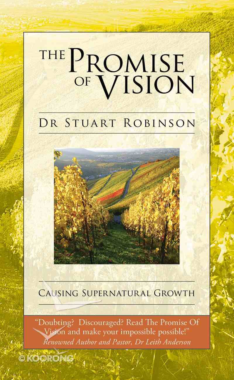 The Promise of Vision eBook
