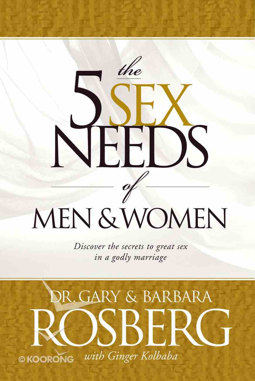 The 5 Sex Needs of Men & Women eBook