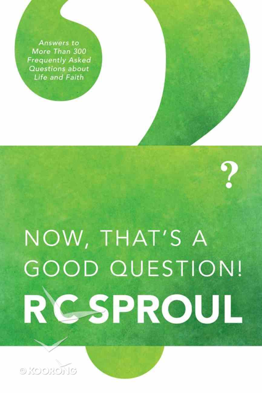 Now, That's a Good Question eBook