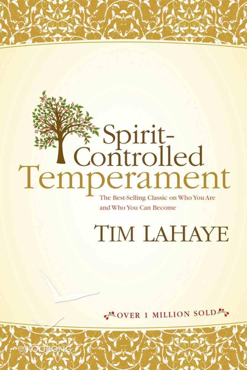 Spirit-Controlled Temperament eBook