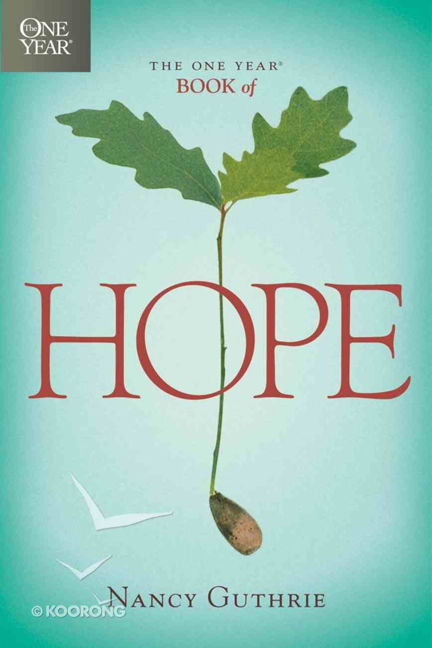 The One Year Book of Hope (One Year Series) eBook