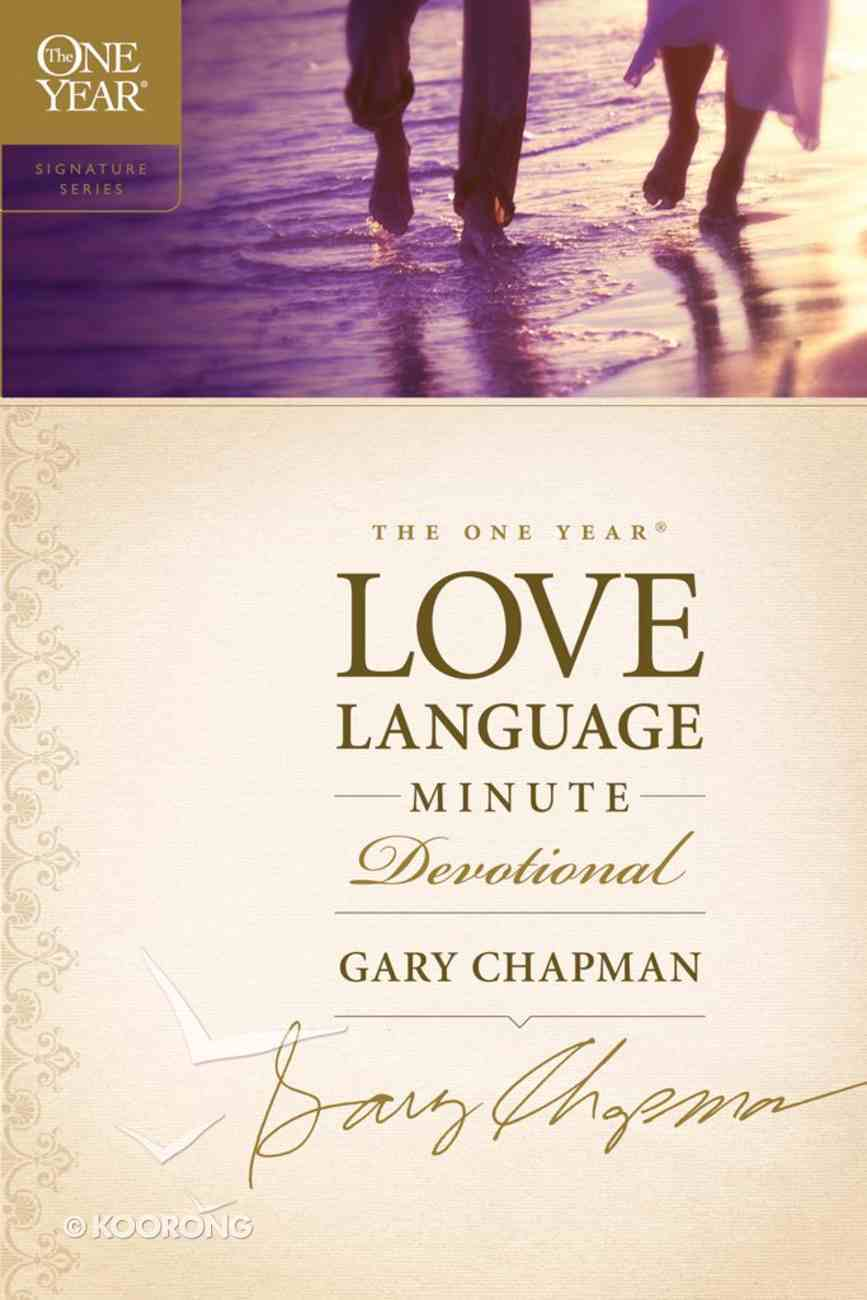 The One Year Love Language Minute Devotional eBook