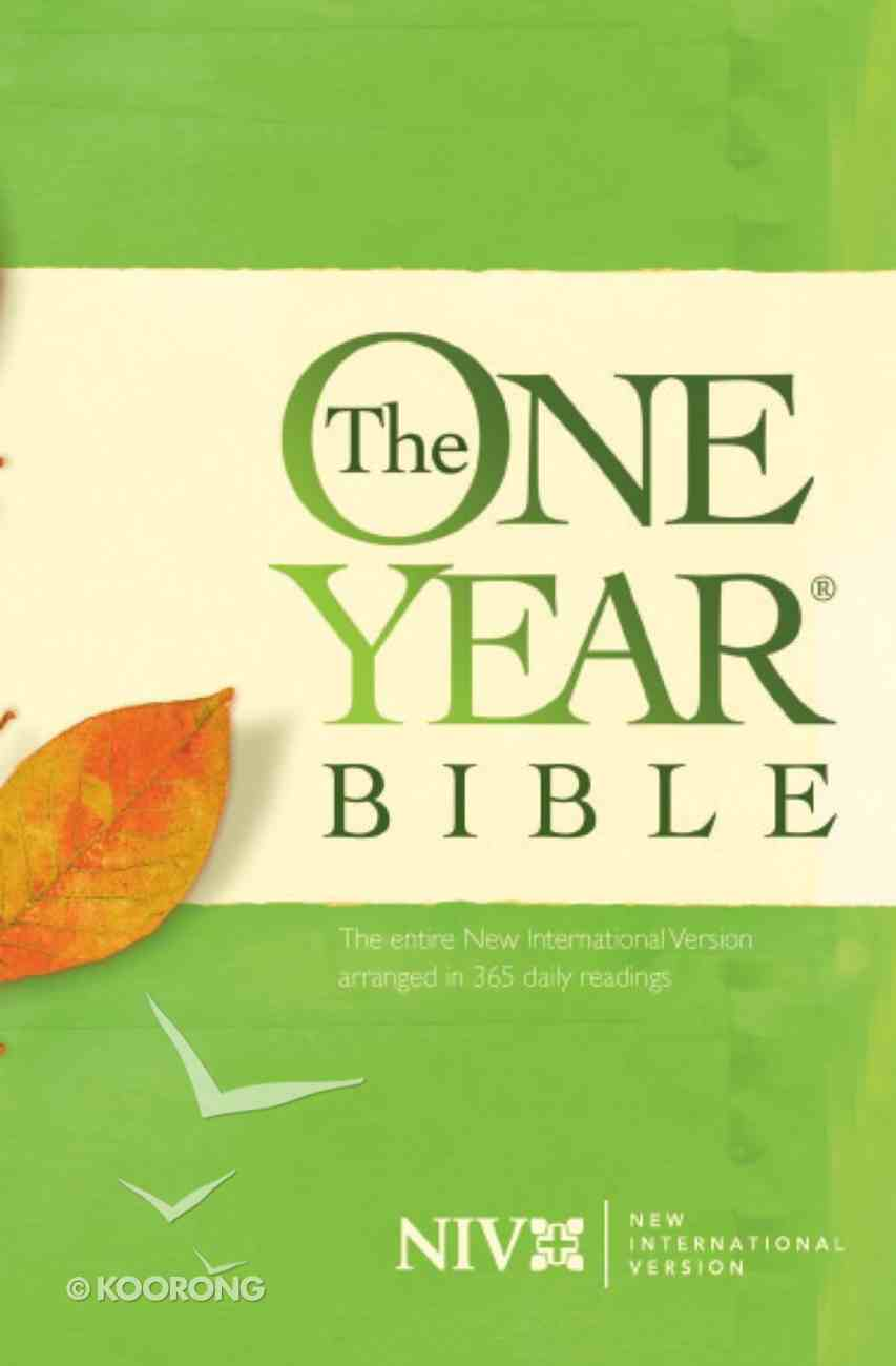 NIV One Year Bible Green eBook