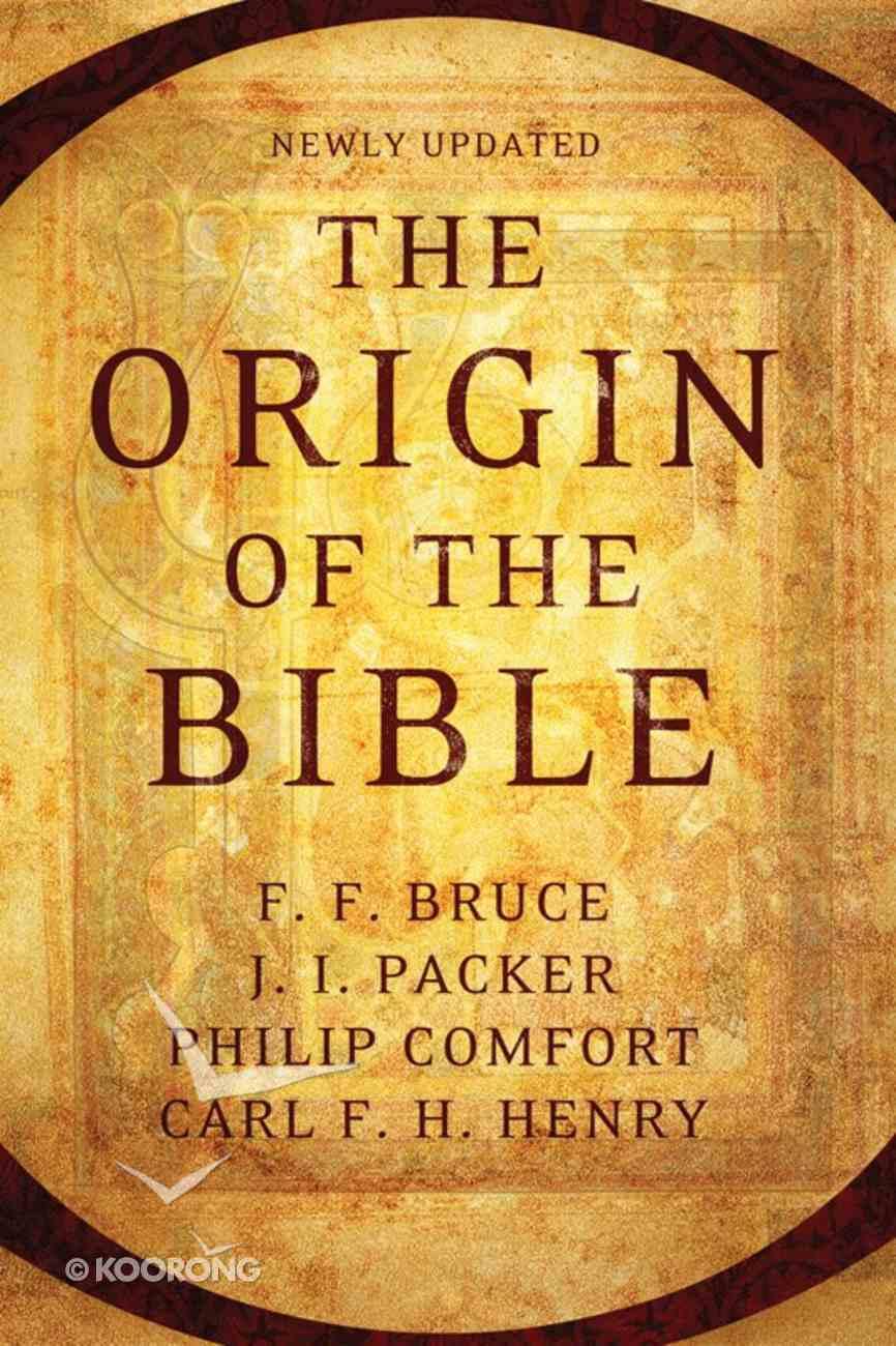 The Origin of the Bible eBook